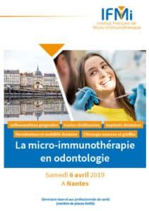 Programme journée MI & Odontologie